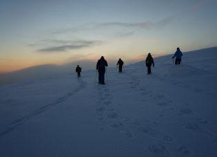 Sneeuwschoenwandeling Lapland