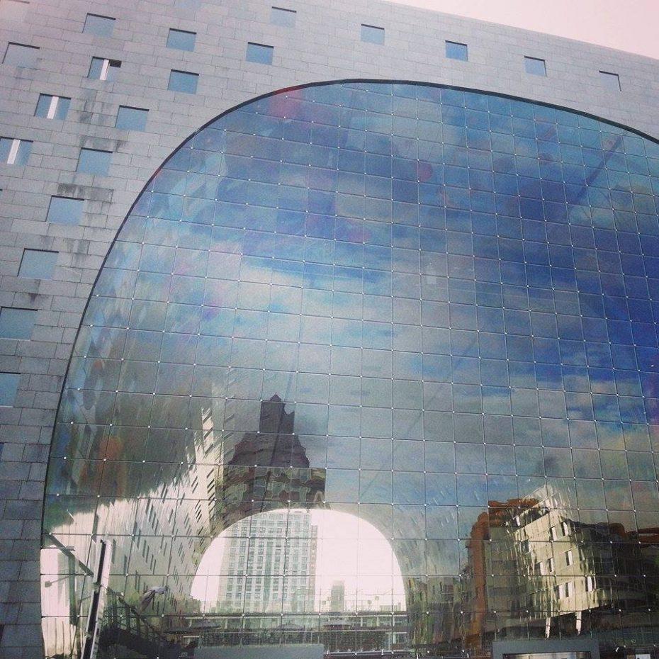 Nieuwe Markthal in Rotterdam - Wat zijn de leukste steden van Nederland?