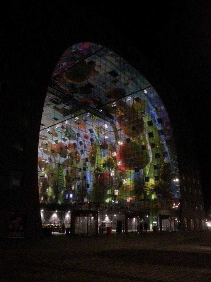 Nieuwe Markthal in Rotterdam