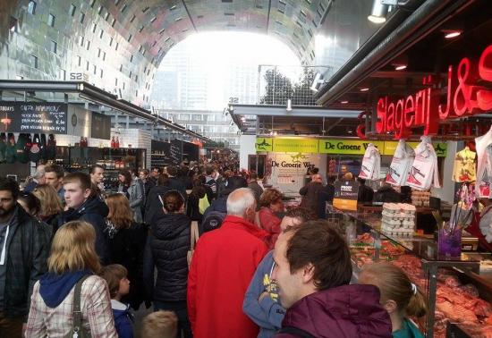markthal rotterdam - verslag liefde voor reizen