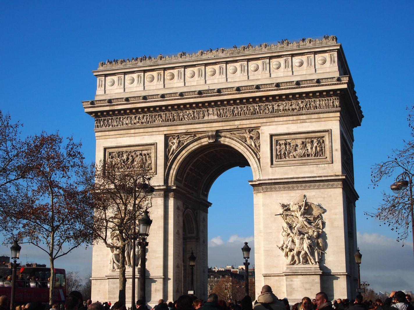 Arc the Triomphe in Parijs