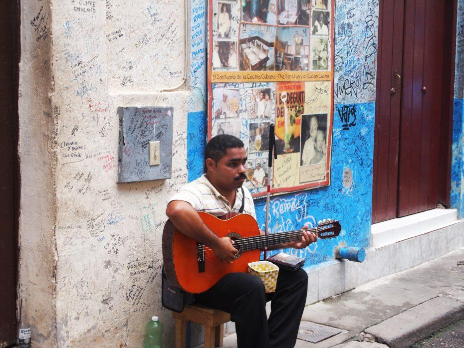 Muzikant in Havana - Cuba