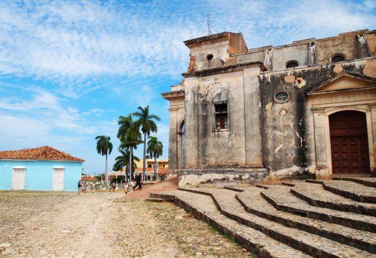 Prachtig plein in Trinidad - Cuba