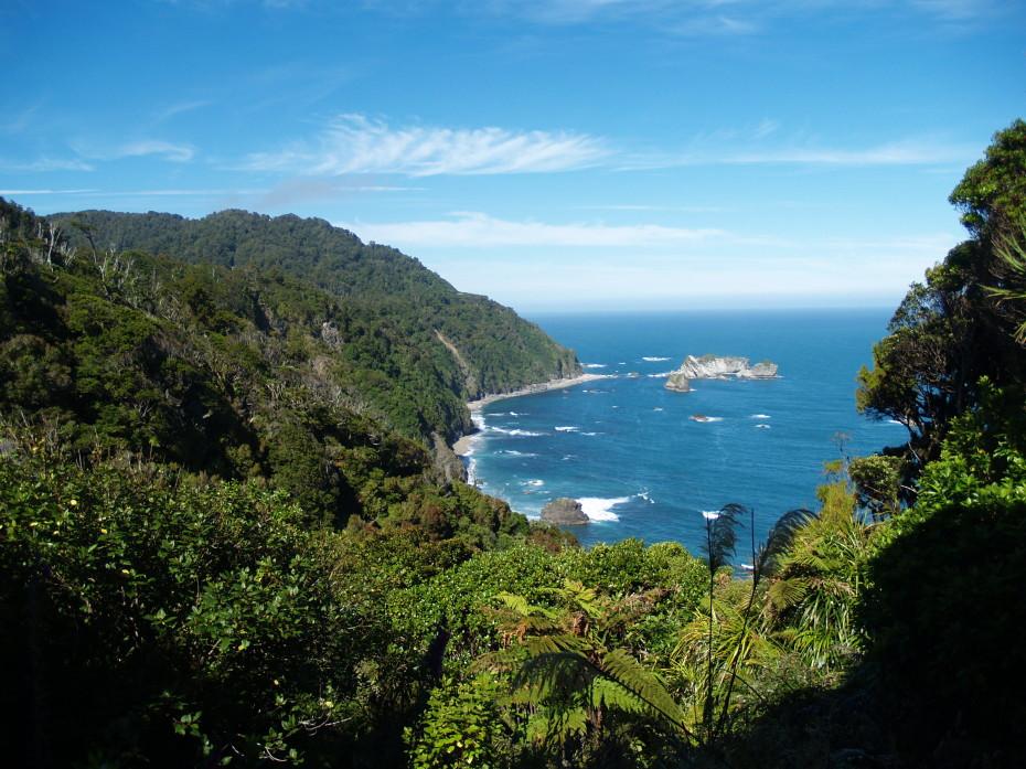 De Westkust van Nieuw-Zeeland