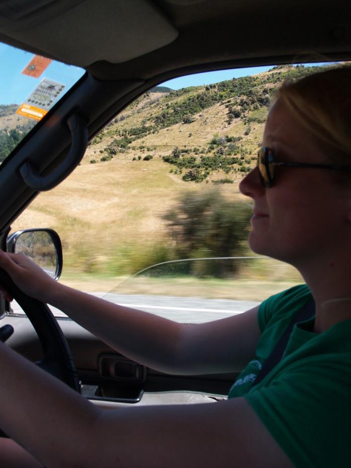 Lekker rijden in ons busje