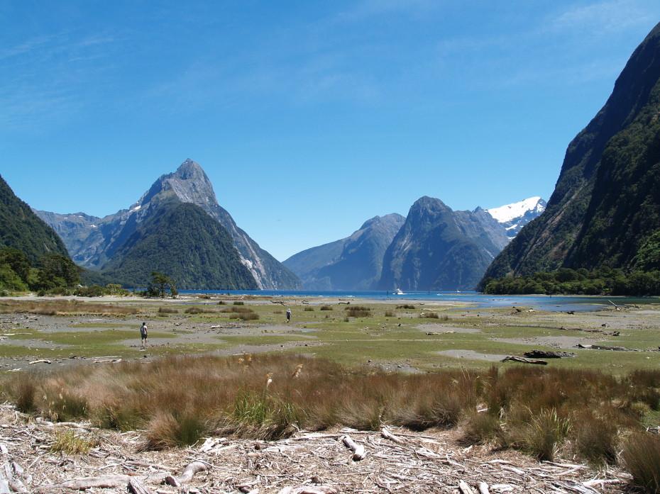 De Milford Sound, waanzinnig uitzicht! - reisblog Nieuw-Zeeland