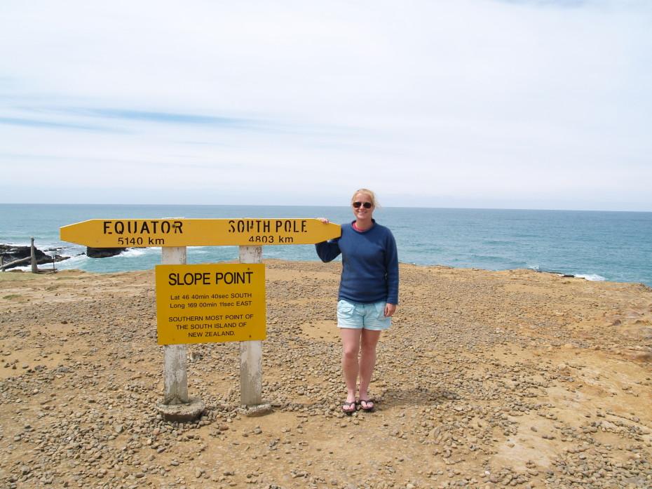 Het meest Zuidelijke puntje op the Catlins - reisblog Nieuw Zeeland