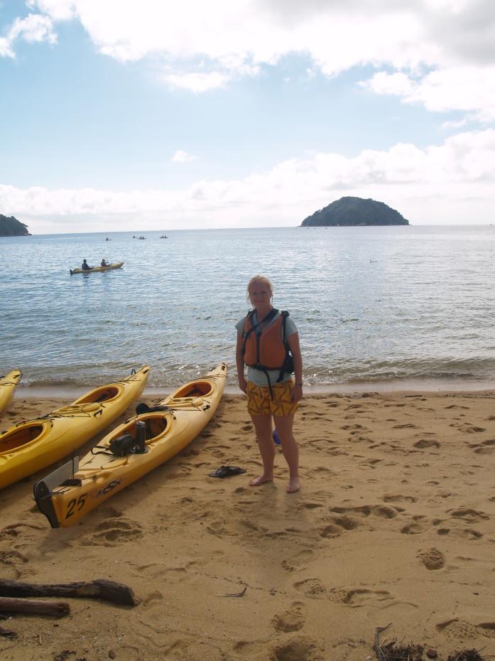 Abel Tasman, kayak
