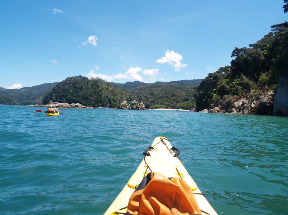 Uitzicht Abel Tasman