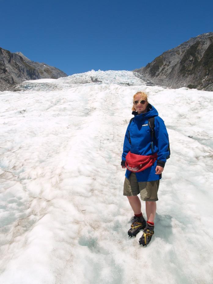 De Franz Joseph glacier - reisblog Nieuw Zeeland