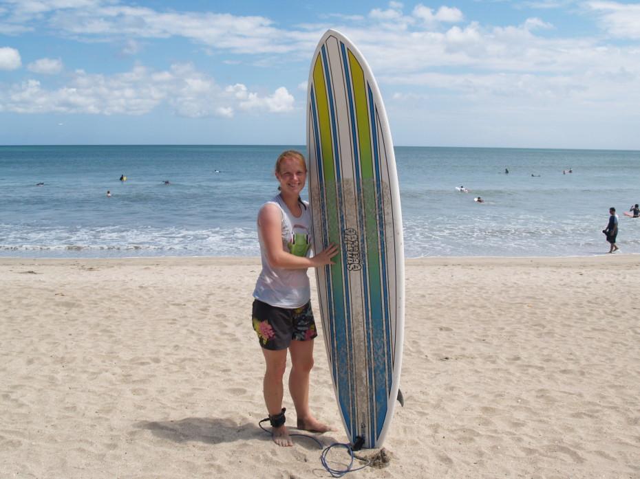 Reporter Marloes Kuta Beach - beste surfplekken