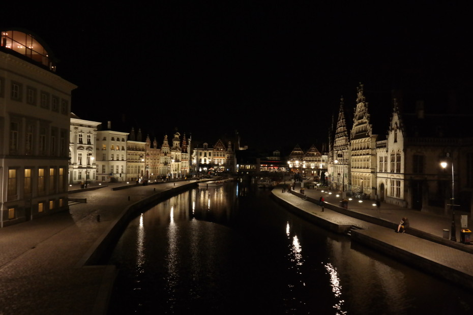 Gent in de nacht