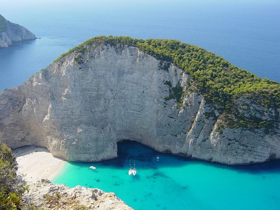 Op nummer 4 het Griekse eiland Zakynthos