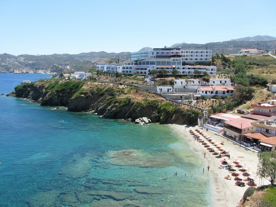 Op nummer 5 het Griekse eiland Kreta