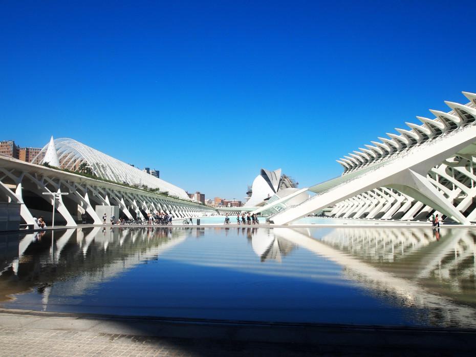 Ciudad de las Artes y las Ciencas - Valencia