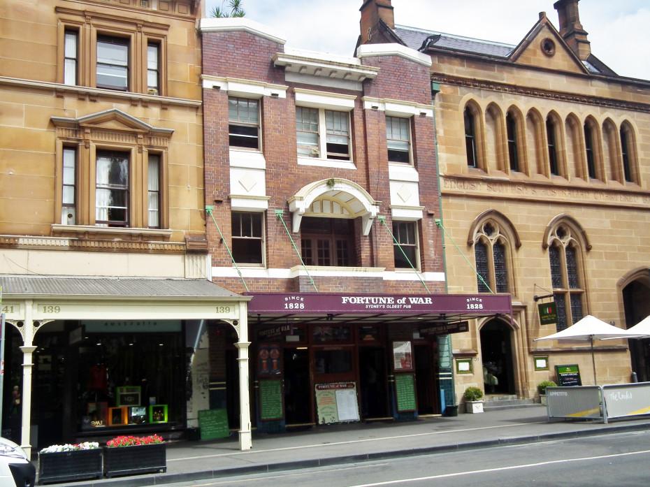 Fortune of War: de oudste pub van Sydney