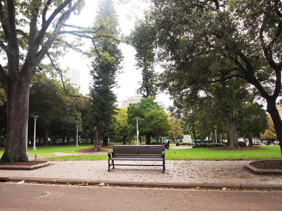 Hydepark in Sydney, een fijn park om te relaxen!