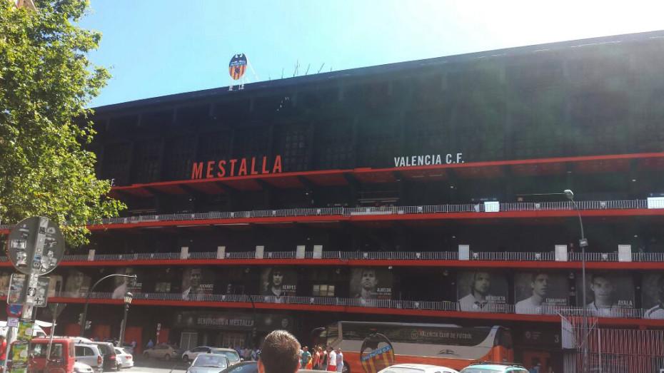 Mestalla stadion Valencia