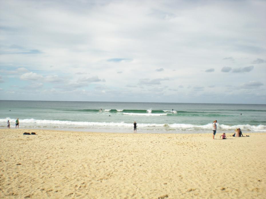 Manly, een prima surfplek!