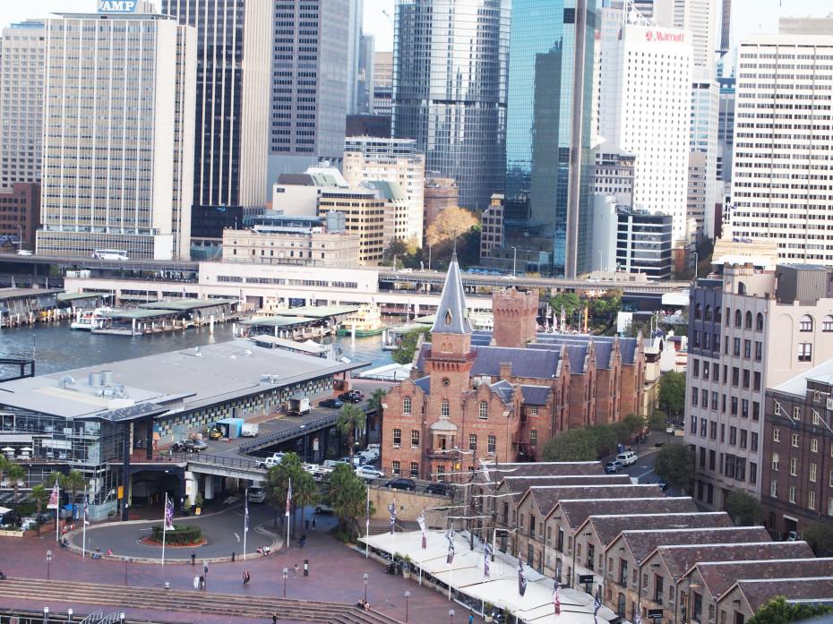 De oudste wijk van Sydney: The Rocks