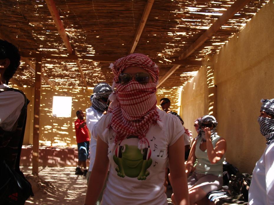 Outfit voor in de woestijn