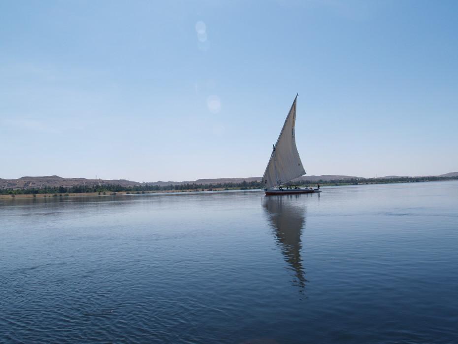 Zeilen over de Nijl