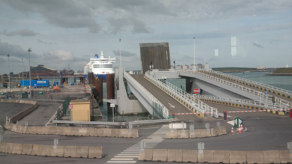 Verboot richting Dover