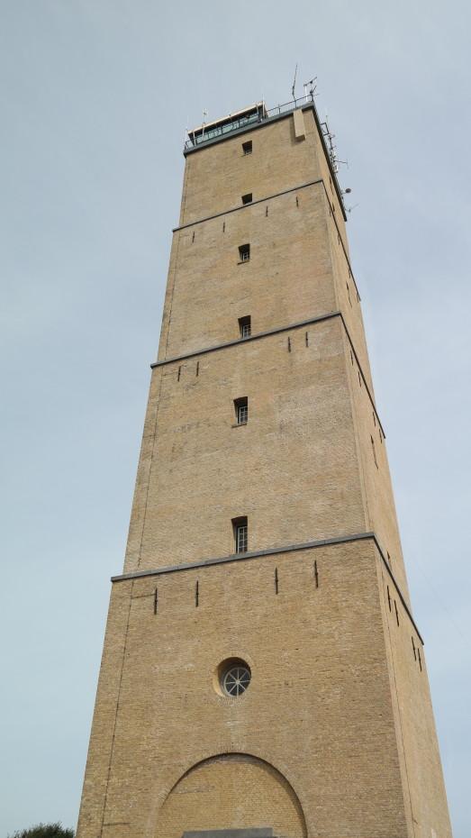 De oudste vuurtoren van Nederland, de Brandaris