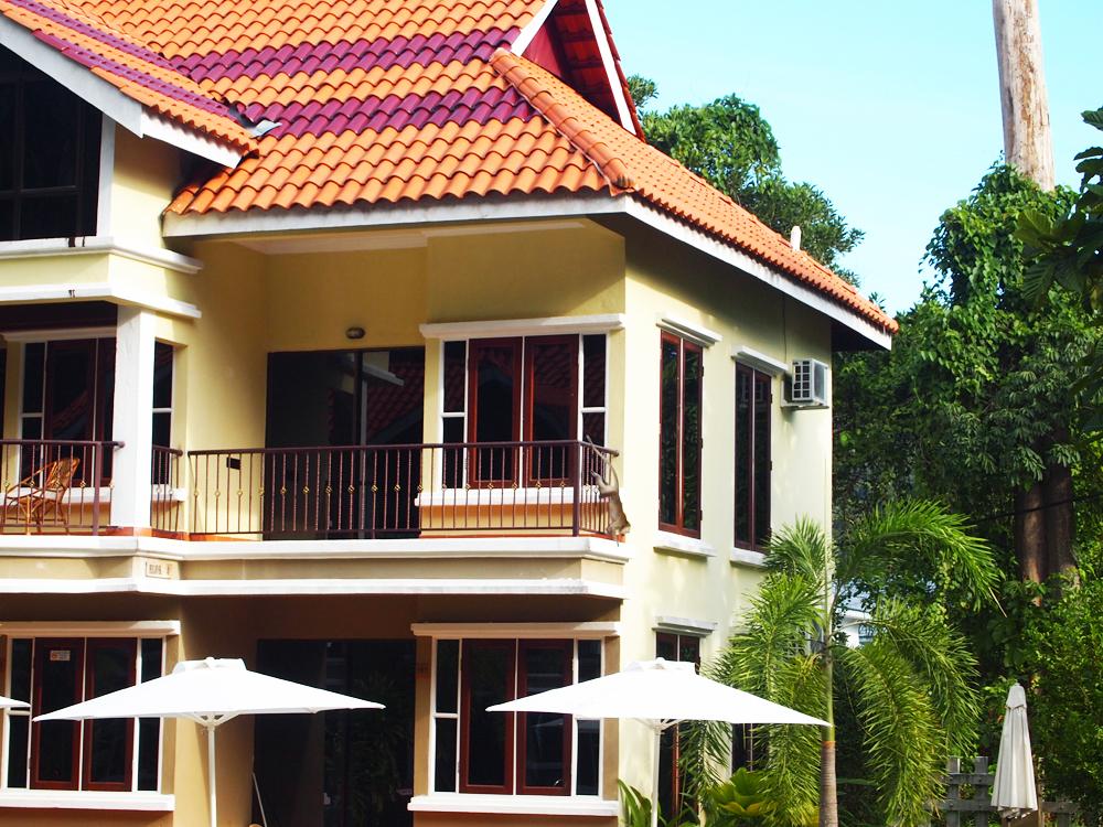 Eiland Pangkor - De apen lopen op je balkon