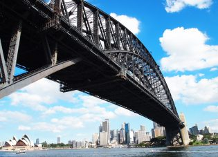 Harbour Bridge & Opera House in Sydney!