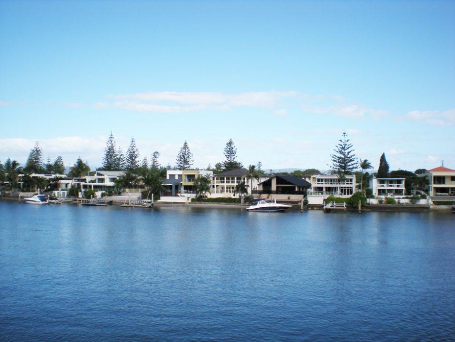 De rivier van Gold Coast!