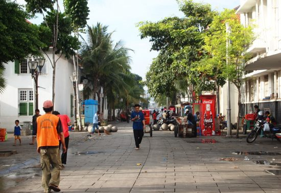 Shortstory: Nog even een blokje om in Jakarta