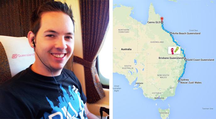 Trip langs de oostkust van Australië