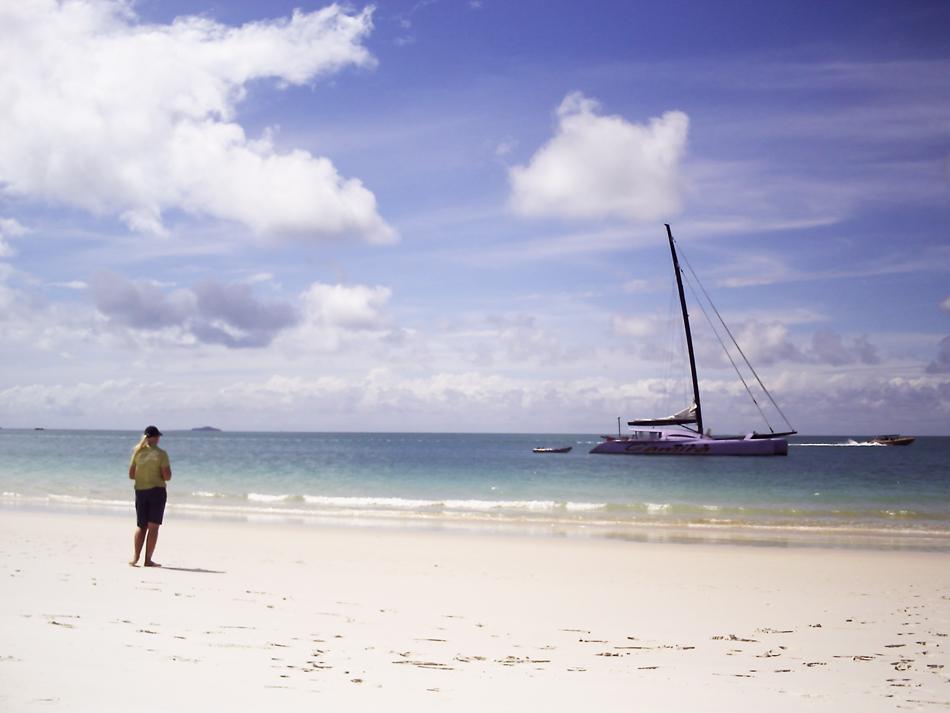Catamaran tour vanaf Airlie Beach