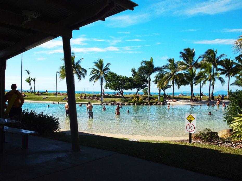 Het zwembad van Airlie Beach