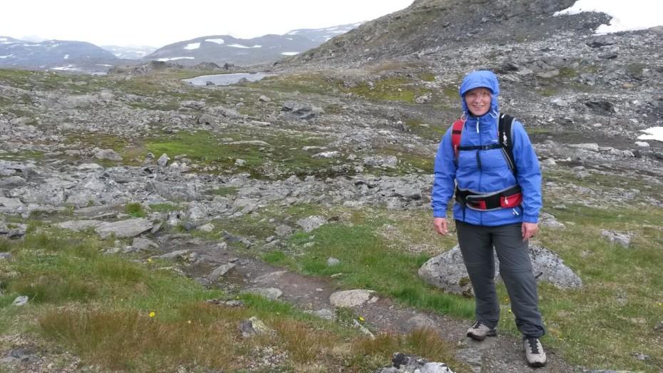 Reporter Marloes in Noorwegen