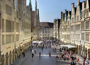 Prinzipalmarkt Münster in Duitsland