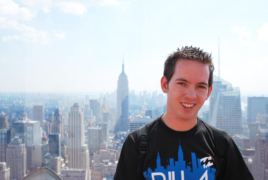 Reporter Jesper in New York
