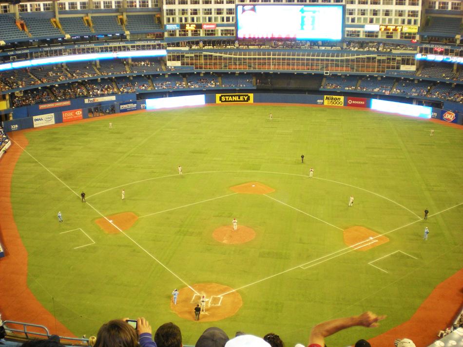 Roger Centre Toronto - Honkbal wedstrijd Blue Jays