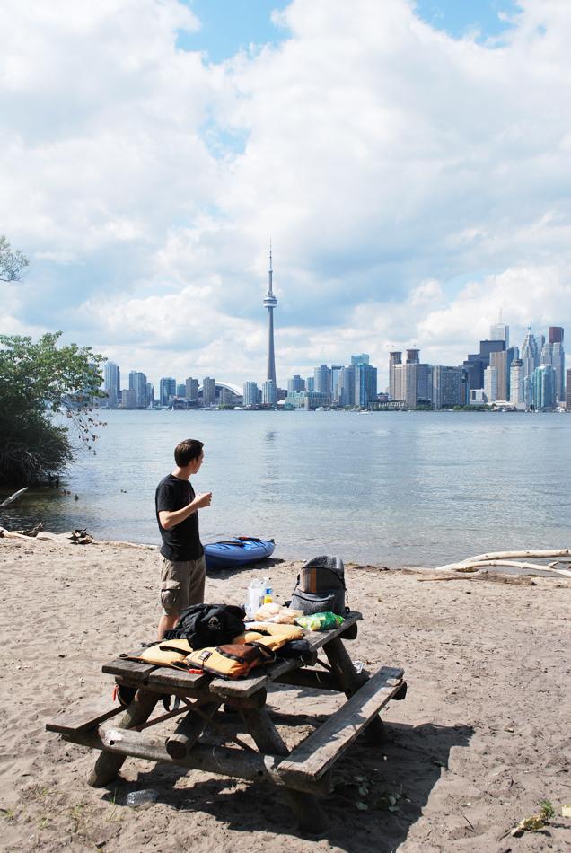 BBQ-en op Toronto Island