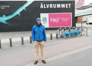 Reporter Bert in Goteborg!