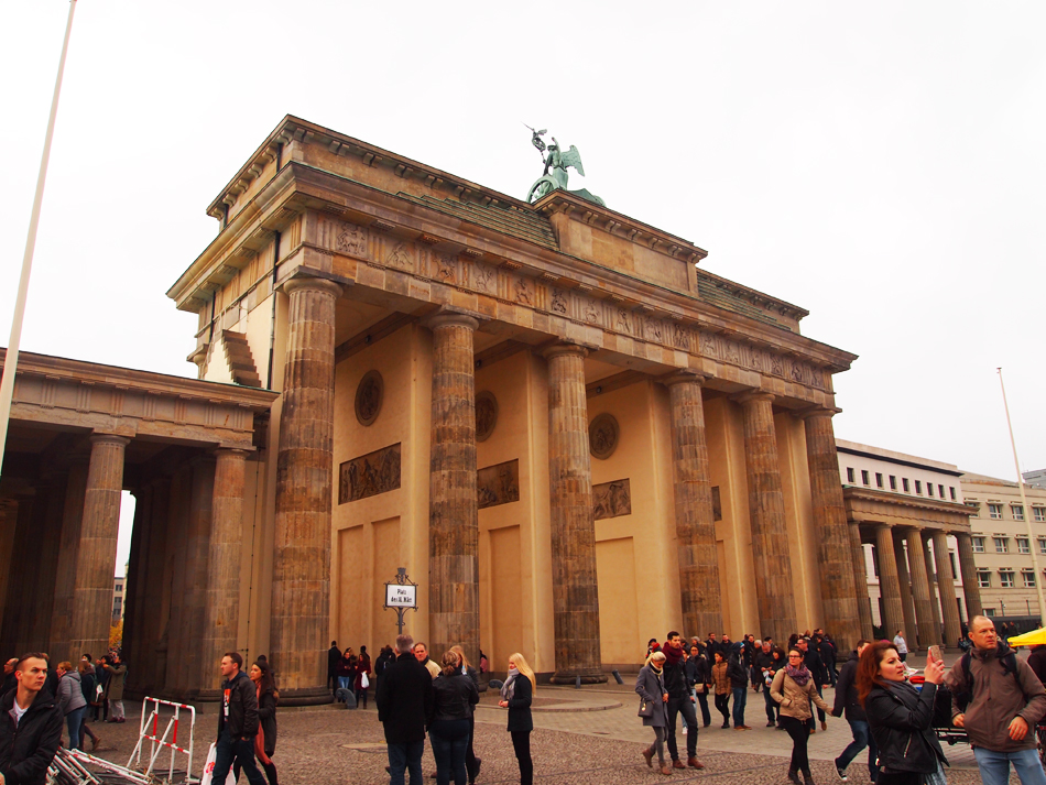 Brandenburger Tor in Berlijn - stedentrips met de trein