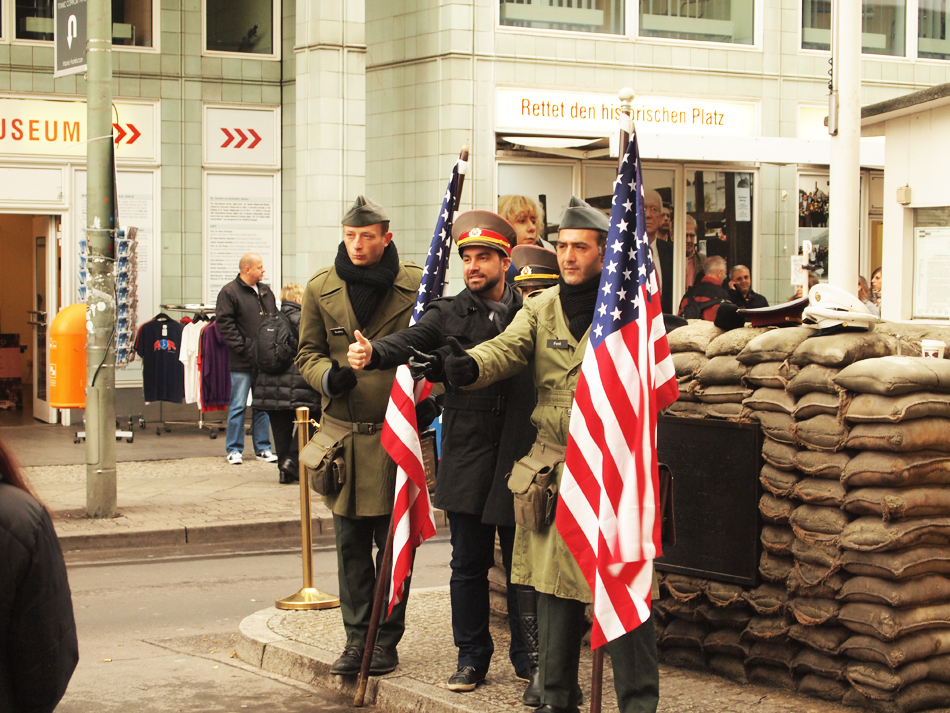 Checkpoint Charlie in Berlijn