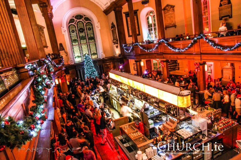 Café, bar, restaurant the Church in Dublin