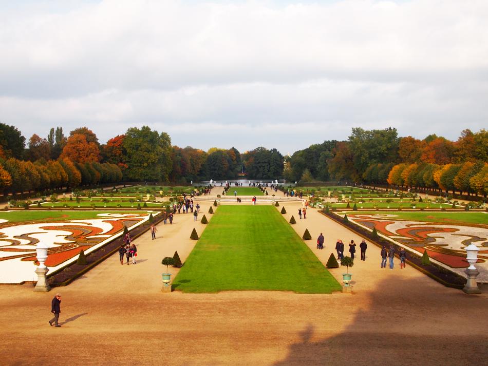 Grote mooie tuin bij Schloss Charlottenburg