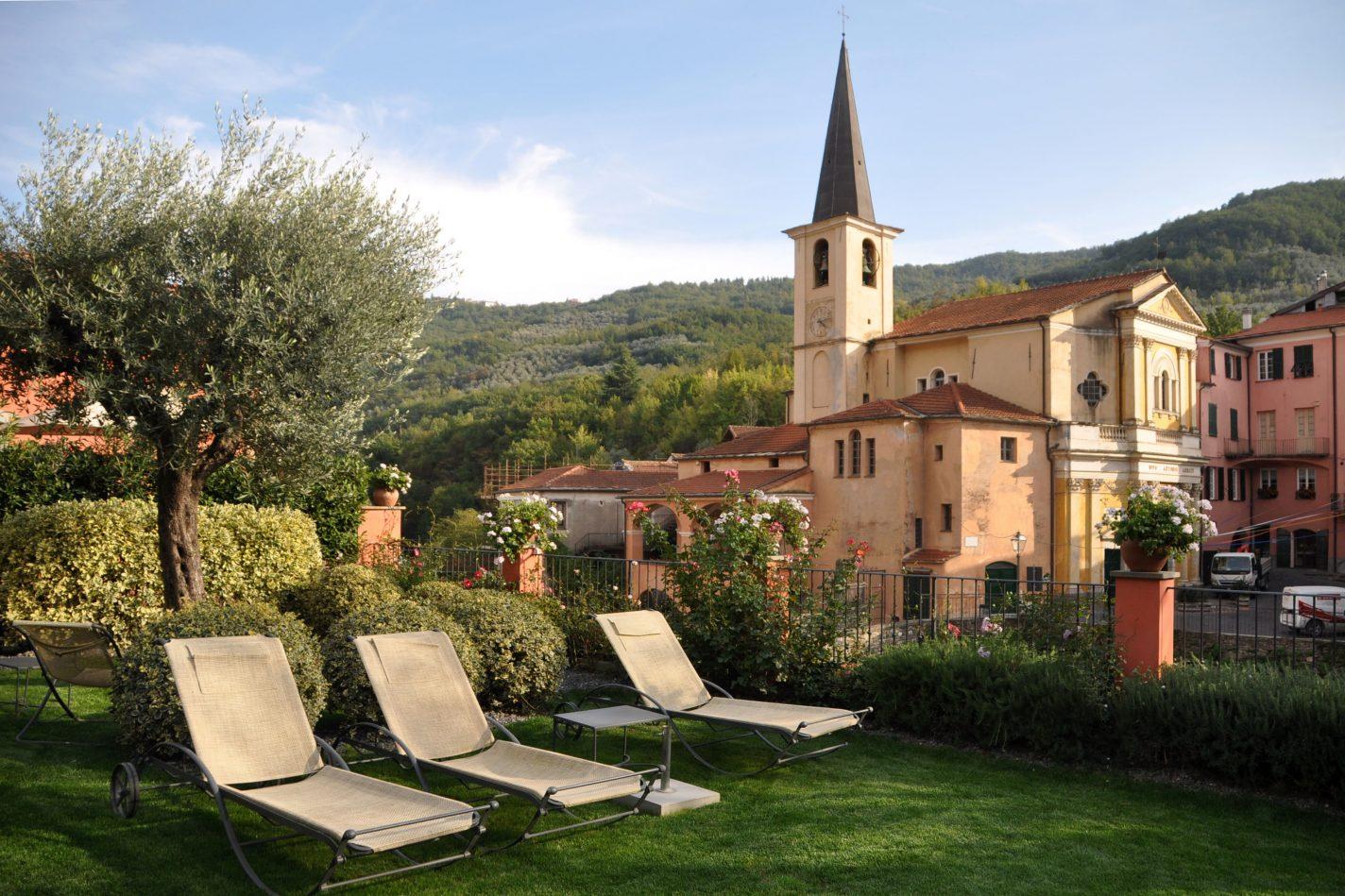 Onbeperkt eten in Borgomaro – Liguria, Italië