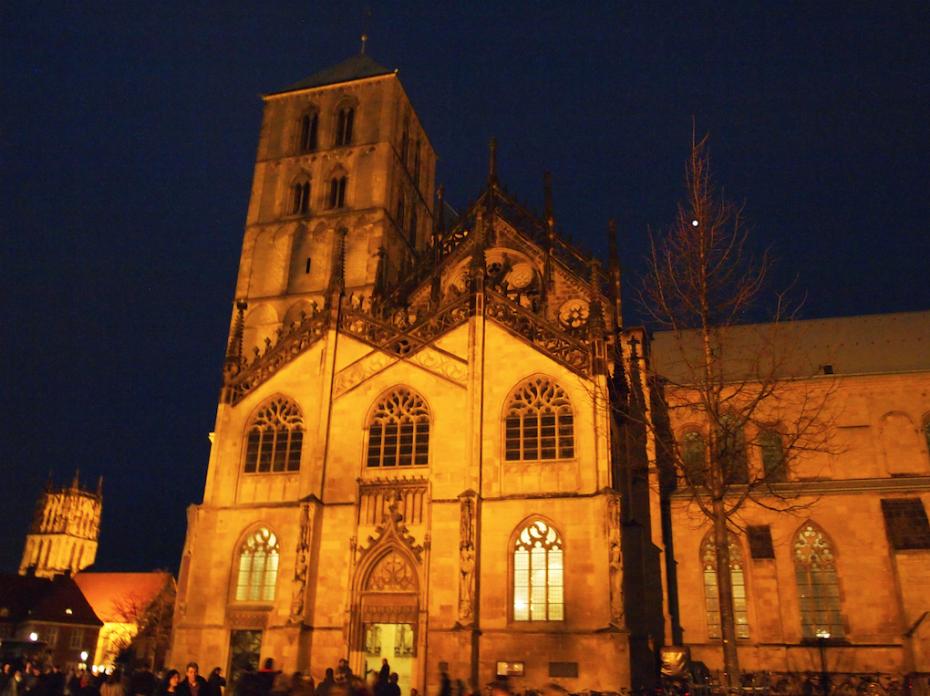 St Paulus Dom in de avond!