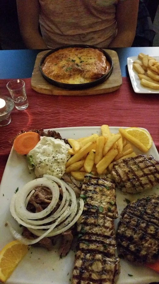 Eten bij de Griek in Berlijn! Een aanrader!