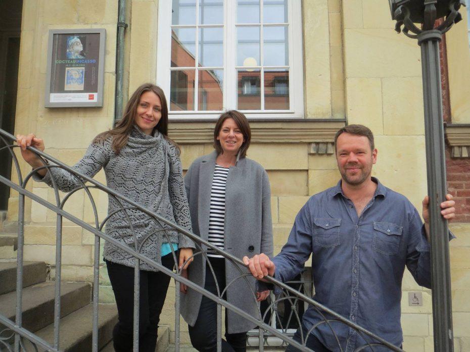 Nederlands sprekende gidsen: Linda, Sonja en Mathhias