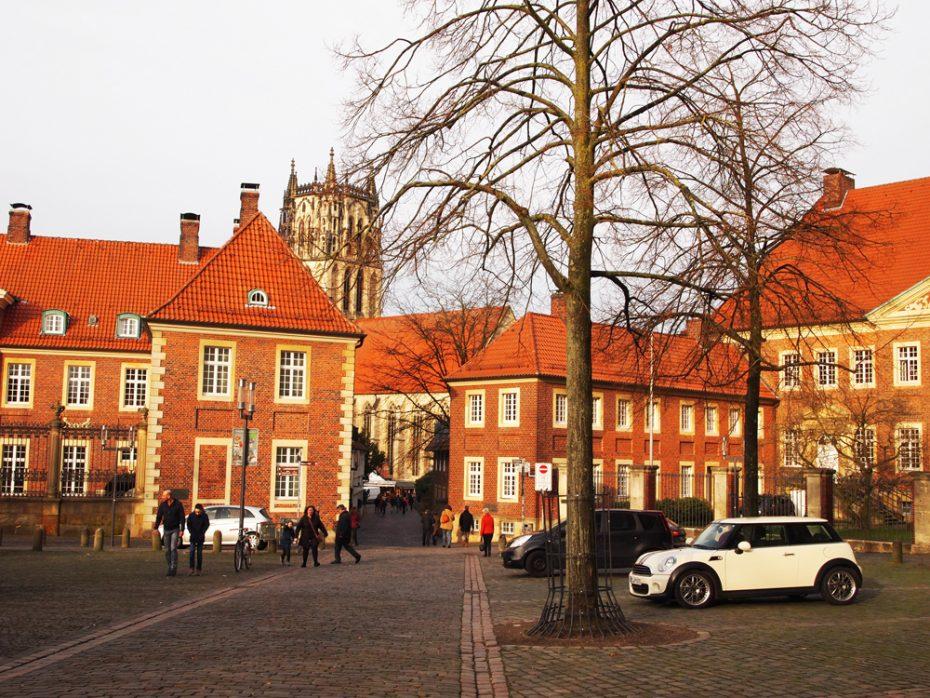 Straatje in Münster!
